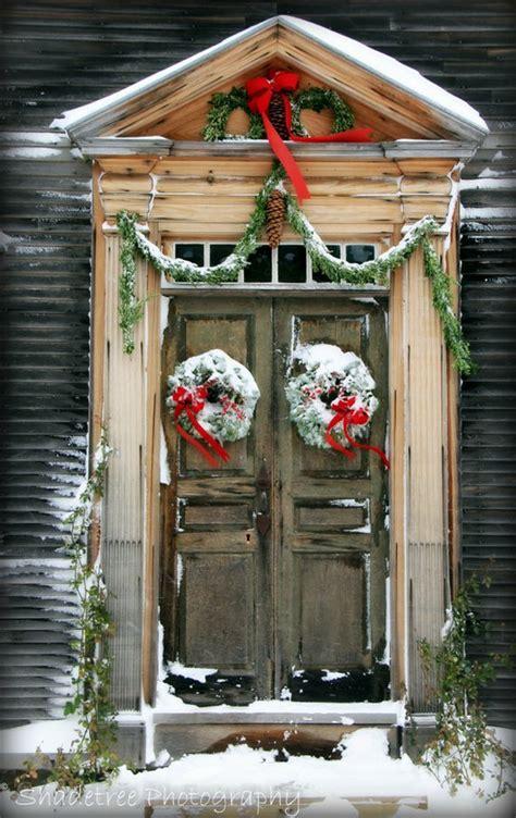 christmas doors porches  beautiful ideas