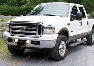 Ford Excursion F250 F350 F450 Clear Halo Projector Fog Lights