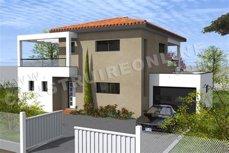 vente de plan de maison moderne