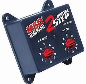 Msd Adjustable 2 Step Launch Control Module Suits Msd 6al