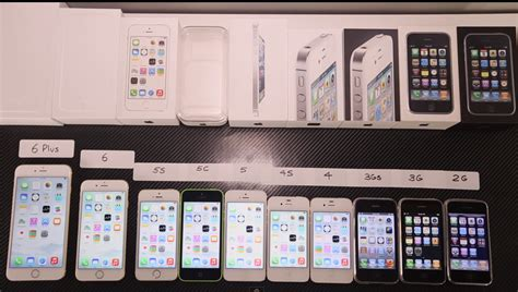 iphone comparison shows side by side speed comparison of all 10 iphone