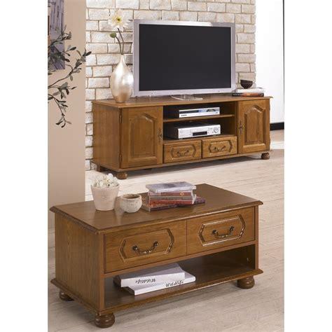 meuble de bureaux ensemble meuble tv et table basse chêne rustique beaux