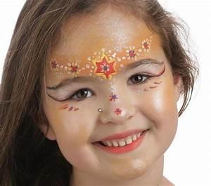 Maquillage Simple Enfant : 10 tutos maquillage sp cial filles le blog d 39 initiatives ~ Melissatoandfro.com Idées de Décoration