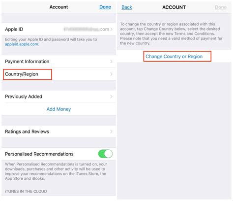 How To Change App Store Location On Iphone Ipad In Ios 1211