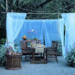 Offset Patio Umbrella Mosquito Net by Diy Newlyweds Diy Home Decorating Ideas Amp Projects