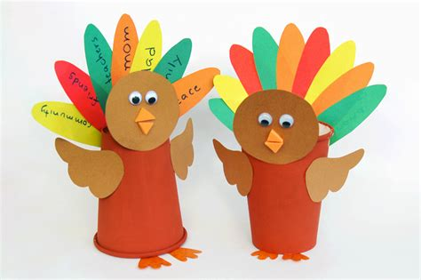 paper cup turkey templates  printable templates