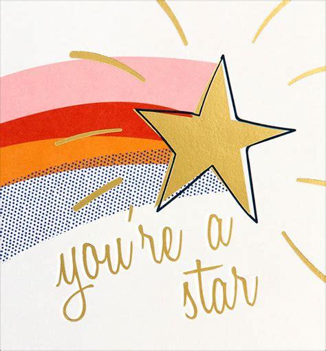 caroline gardner youre  star congratulations card