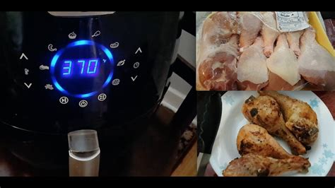 fryer frozen air chicken cook easy airfryer recipes cooking culinary edge drumsticks legs meals fastest digital recipe