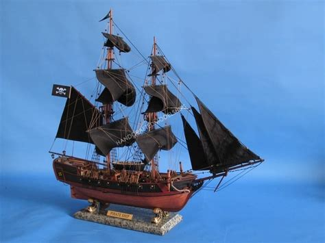 The Boat Wholesaler by Wholesale Caribbean Pirate Ship 26 Inch Wholesale Black