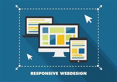 Responsive Flat Website Clipart Graphics Mobile Vectorified