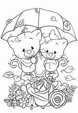 Coloring Couple Cuties Ausmalen Herbst Sheets Malvorlagen Bilder Disney Bojanke Katzen Weihnachten Malen Zum Kritzeleien Animal Preschool категории из раскраски sketch template