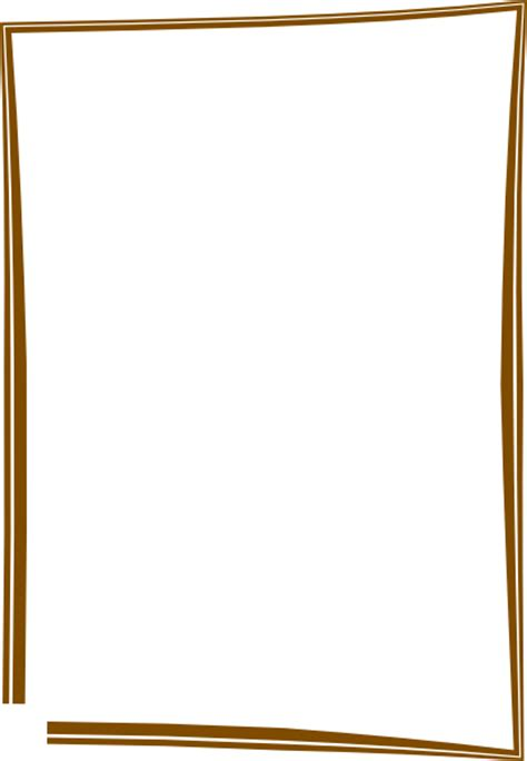 brown frame clip art  clkercom vector clip art