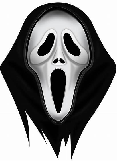 Scream Mask Clipart Transparent Pigiste Headgear Cara