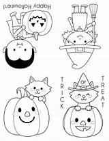 Halloween Coloring Pages Mini Books Printable Career Crayola Sheets Colouring Pokemon Clip Treat Preschool Characters Sugar Perfect El Christmas Getcolorings sketch template