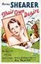 Their Own Desire (1929) movie poster