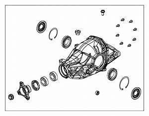 Jeep Grand Cherokee Differential  Rear Axle  Suspension