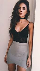 Disco Outfit 2017 : how to wear a choker 50 choker necklace outfit ideas necklaces pinterest outfits ~ Frokenaadalensverden.com Haus und Dekorationen