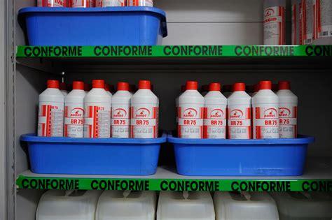 risques chimiques stockage des produits chimiques