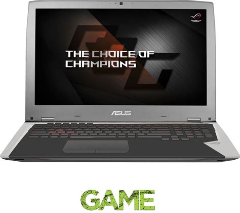 pc bureau asus i7 asus republic of gamers gx700 17 3 quot gaming laptop silver