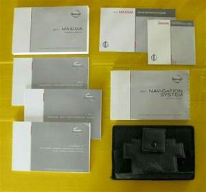 Maxima 11 2011 Nissan Owners Owner U0026 39 S Manual Set With Case