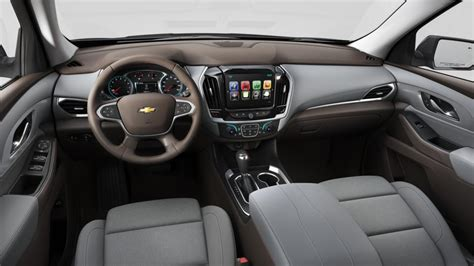 2018 Chevrolet Traverse Interior Colors  Gm Authority