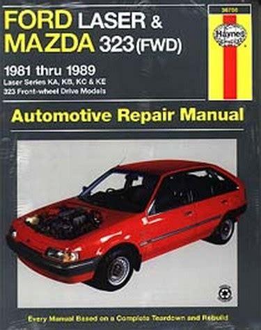motor auto repair manual 1989 ford laser electronic throttle control mazda 323 fwd ford laser kc meteor gc 1985 1989 sagin workshop car manuals repair books