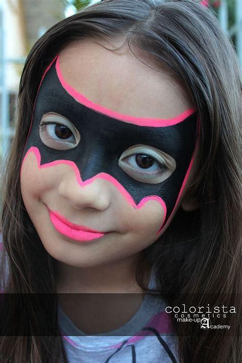 batgirl monliet face paint heroes villains