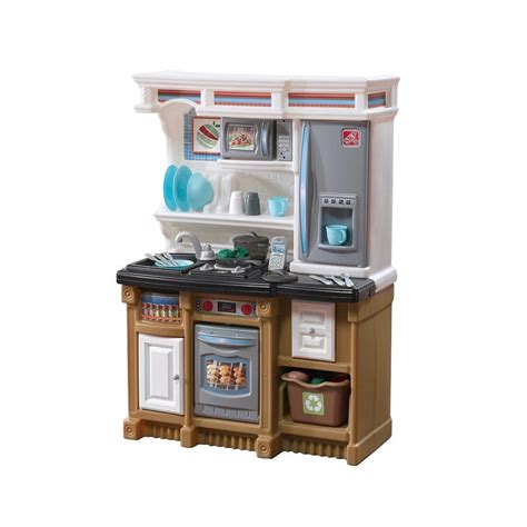 step2 play kitchen accessories step2 lifestyle custom kitchen playset 856900 the home depot 5800