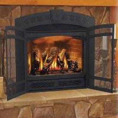 fireplace screen kit arched  wayfair fireplace doors fireplace remodel fireplace screens