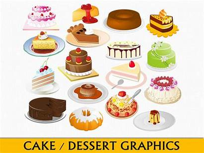 Clipart Dessert Clip Cake Graphics Desserts Bakery