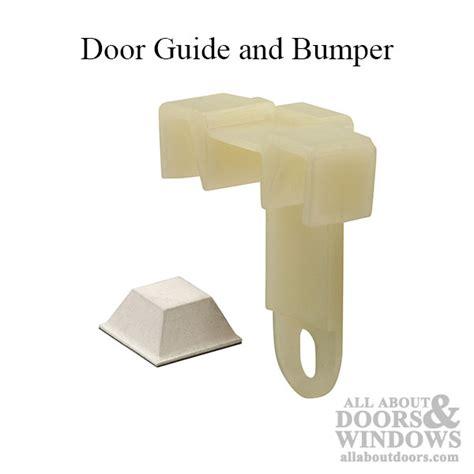 guide bumper sliding mirror door