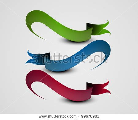 illustration of a set of beautiful ribbon on a roll vector 99676901 shutterstock