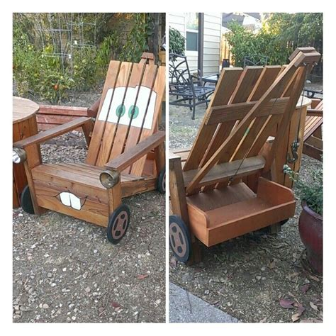 my from scratch tow mater adirondack chair
