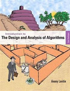 Introduction To The Design And Analysis Of Algorithms  3rd