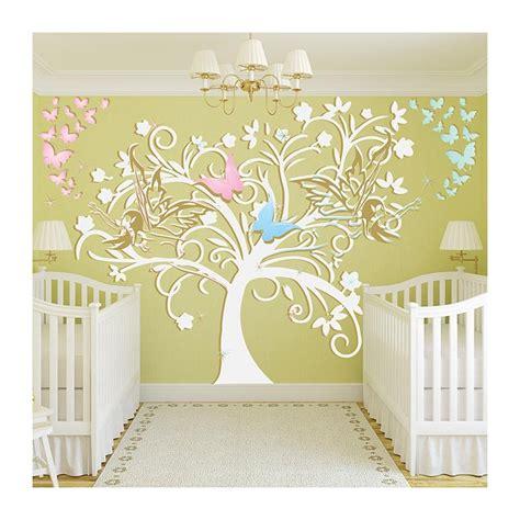 stickers muraux chambre bebe stickers chambre bébé arbre et fées un sticker mural