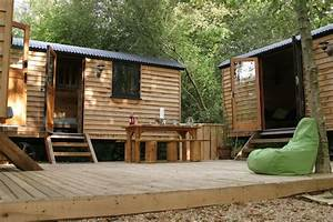 news unique new shepherd hut glamping on the isle of wight With woods bathrooms isle of wight