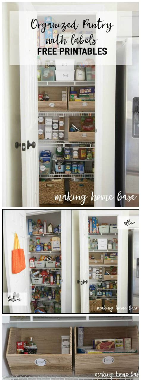 how to organize kitchen pantry 60 best pantry organization ideas diy diy crafts 7300