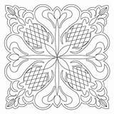 Pineapple Quilting Motion Coloring Patterns Block Quilt Sweetdreamsquiltstudio Alphabet sketch template