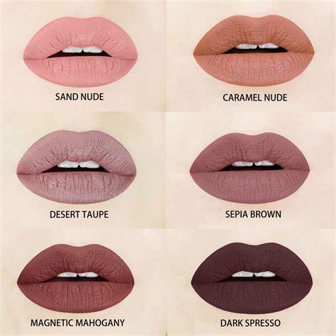 what color lipstick brown and liquid matte lipsticks espresso