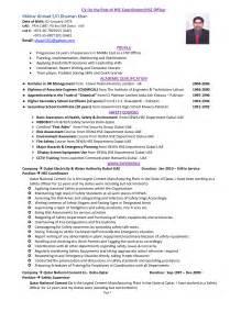 safety coordinator description sle safety manager resume