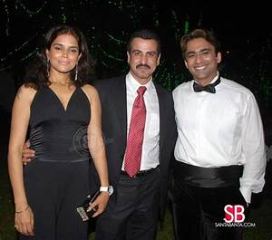 BeYu Cosmetics Launch -- Ronit Roy and his wife Neelam ...
