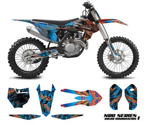 graphics for motocross bikes ktm motocross graphics kit nrg omx graphics