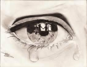 Love Crying Eye Drawings