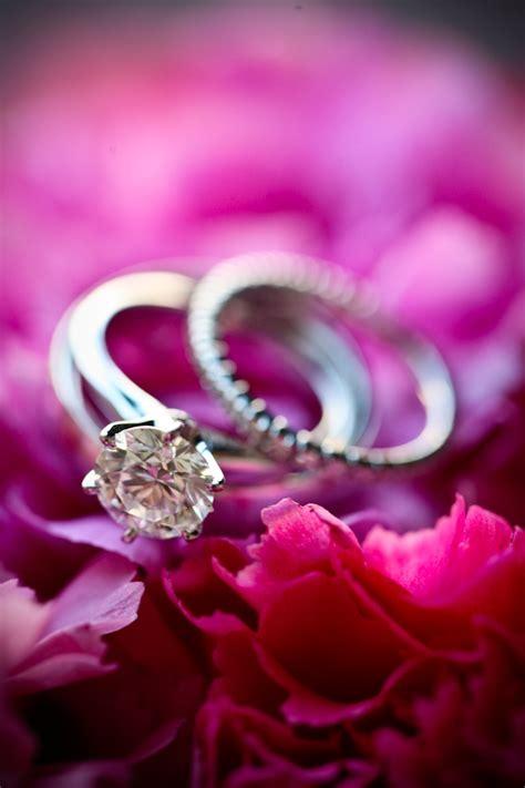 brilliant engagement ring infinity wedding band