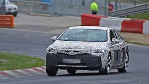 2017 Opel Insignia Caught on Spy on the Nurburgring