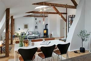 Le design scandinave 60 idees merveilleuses archzinefr for Meuble de salle a manger avec tapis salon style scandinave