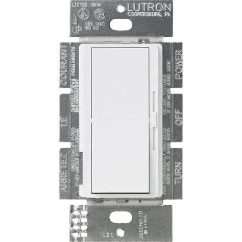Lutron Diva Fan Control Light Switch For Leds Cfls