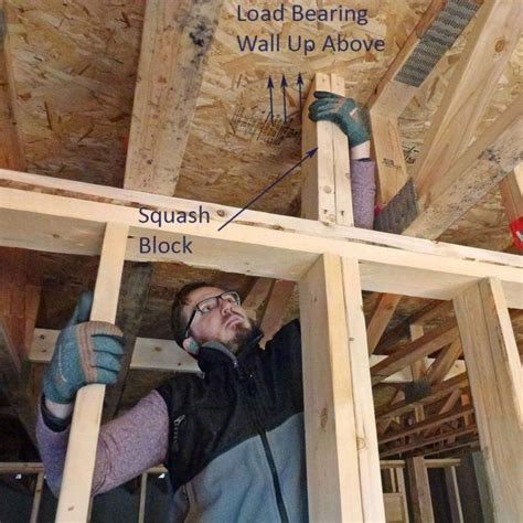 framing squash  carry loads home construction