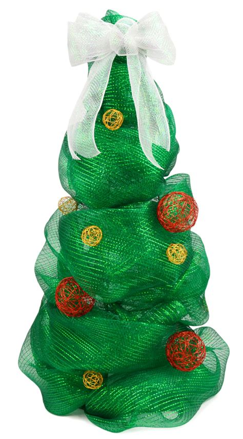 mesh ribbon christmas tree tutorial ideas by mardi gras outlet deco mesh tree made with a tomato cage tutorial