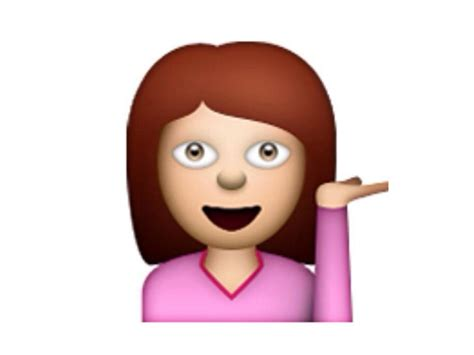 So, You've Been Using The Sassy Girl Emoji All Wrong